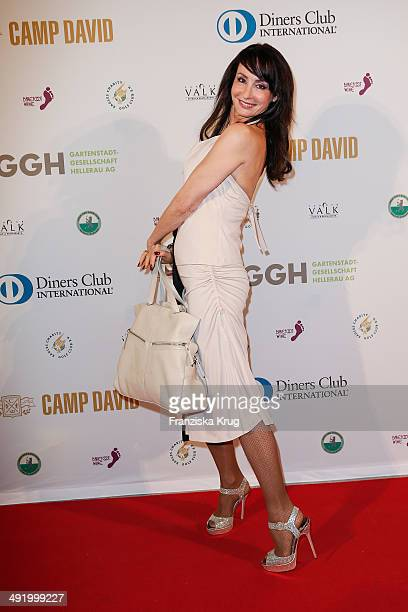 Anna Maria Kaufmann attends the 'Camp David Eagles Hauptstadt Golf Cup' Gala at Van der Valk Hotel Berlin Brandenburg on May 18 2014 in Berlin Germany