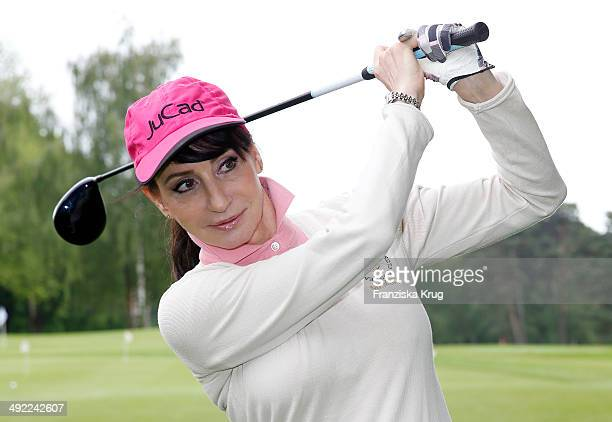 Anna Maria Kaufmann attends the 'Camp David Eagles Hauptstadt Golf Cup' on May 19 2014 in Berlin Germany