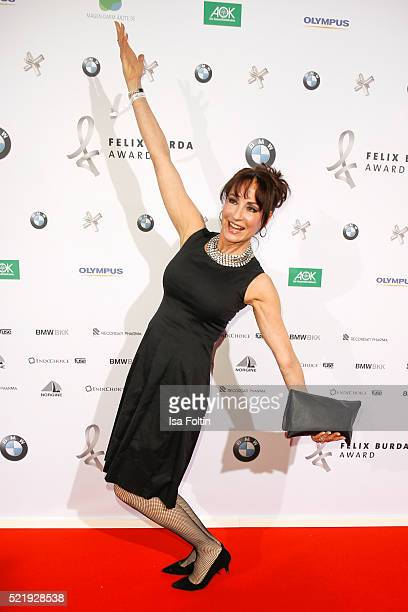 Anna Maria Kaufmann attends the Felix Burda Award 2016 on April 17 2016 in Munich Germany