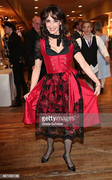Anna Maria Kaufmann during the SIXT fashion dinner at Nockherberg on March 24 2015 in Munich Germany