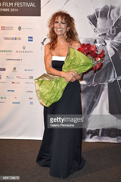 Anna Maria Mazzamauro attends during the Closing Ceremony during the 32nd Turin Film Festival on November 29 2014 in Turin Italy