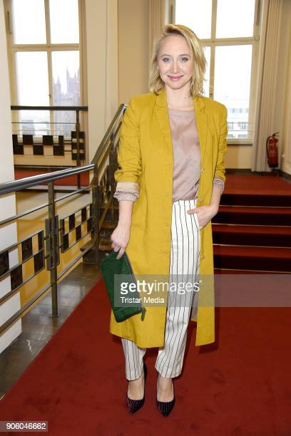 Anna Maria Muehe during the Perret Schaad Presentation Der Berliner Salon AW 18/19 at Kronprinzenpalais on January 17 2018 in Berlin Germany