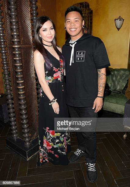 Anna Maria Perez de Tagle and AJ Rafael at MYX TV presents Cast Me on September 22 2016 in Los Angeles California