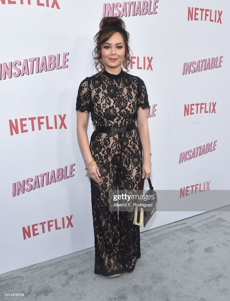 Anna Maria Perez de Tagle attends the Season 1 premiere of Netflix's 'Insatiable' at ArcLight Hollywood on August 9, 2018 in Hollywood, California.