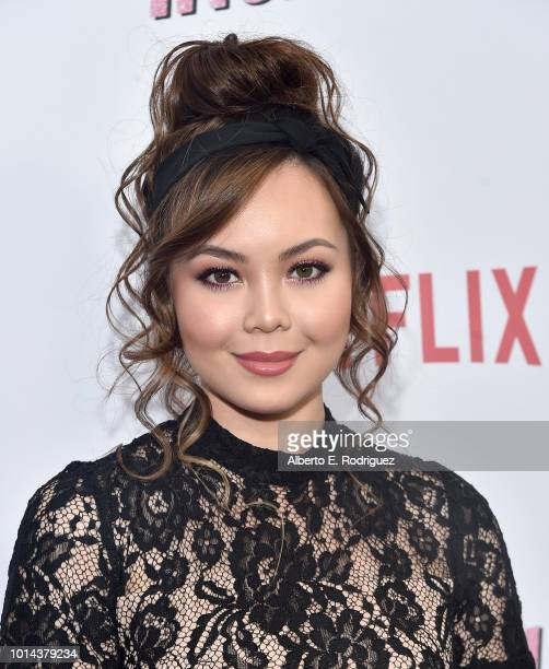 Anna Maria Perez de Tagle attends the Season 1 premiere of Netflix's 'Insatiable' at ArcLight Hollywood on August 9 2018 in Hollywood California