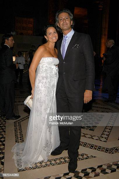 Anna Maria Wilson and Carlos de Souza attend New Yorkers for Children 10th Anniversary Fall Gala at Cipriani 42nd Street on September 21 2005 in New...