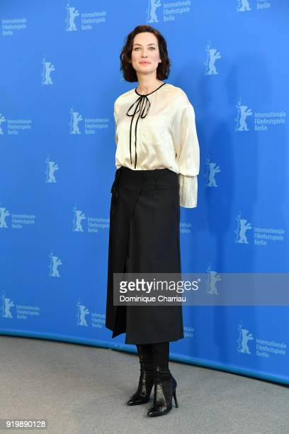Anna Marie Cseh poses at the 'Genesis' photo call during the 68th Berlinale International Film Festival Berlin at Grand Hyatt Hotel on February 18,...