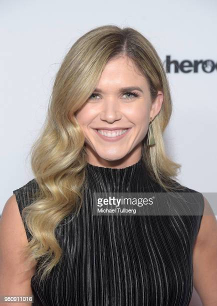 Anna Marie Dobbins attends Nights Of Freedom LA hosted by Unlikely Heroes at W Hollywood on June 21 2018 in Hollywood California