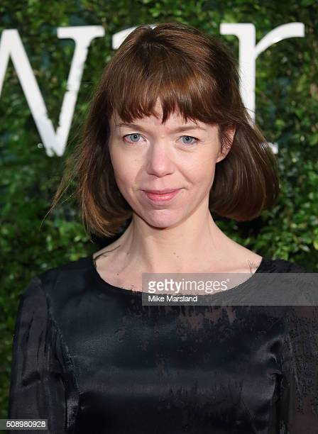 Anna Maxwell Martin attends the London Evening Standard British Film Awards at Television Centre on February 7 2016 in London England