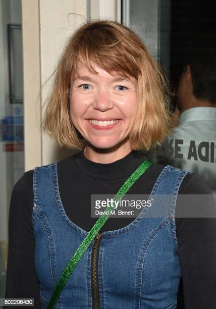 Anna Maxwell Martin attends the press night performance of 'Ink' at The Almeida Theatre on June 27 2017 in London England