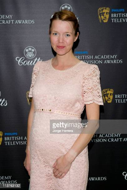 Anna MaxwellMartin attends the The Philips British Academy Television Awards Nominees Party at Coutts Bank on May 5 2011 in London England