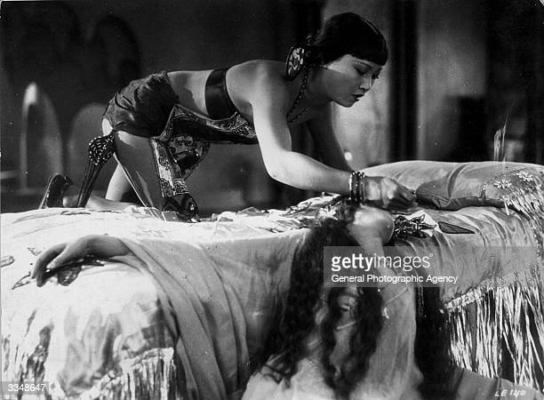 Anna May Wong real name Wong Lui Tsong in 'The Thief Of Baghdad' a flamboyant silent film which borrows from the arabian nights tales Directed by...