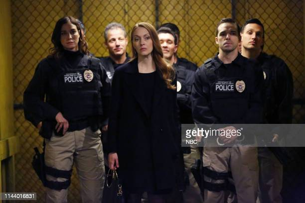 "Anna McMahon "" Episode 621 -- Pictured: Jennifer Ferrin as Anna McMahon --"
