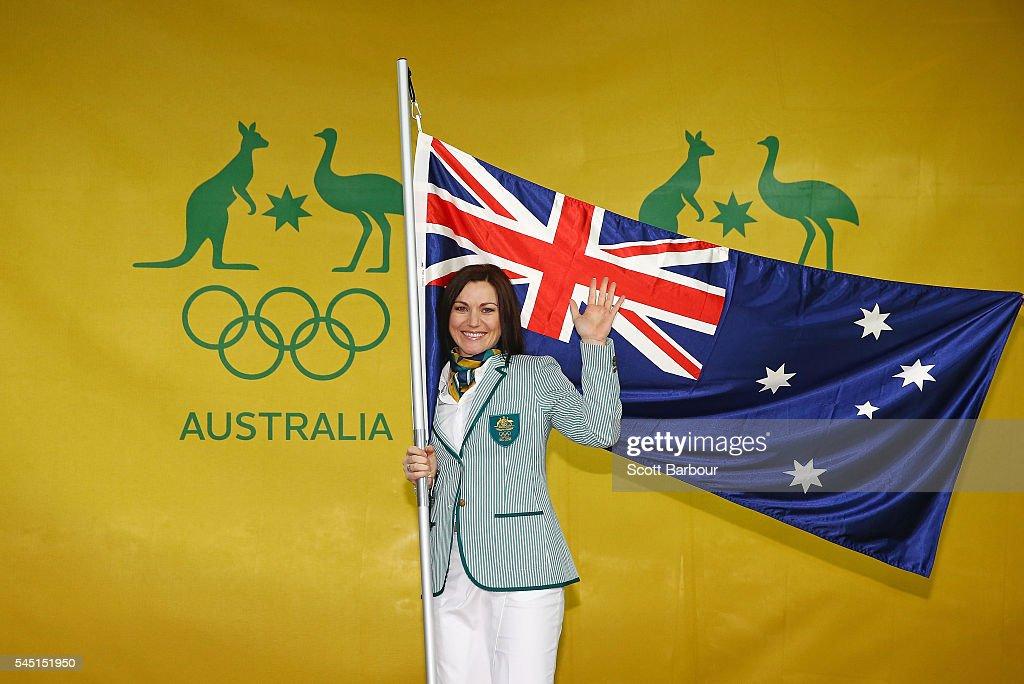 Australian Olympic Flag Bearer Announcement