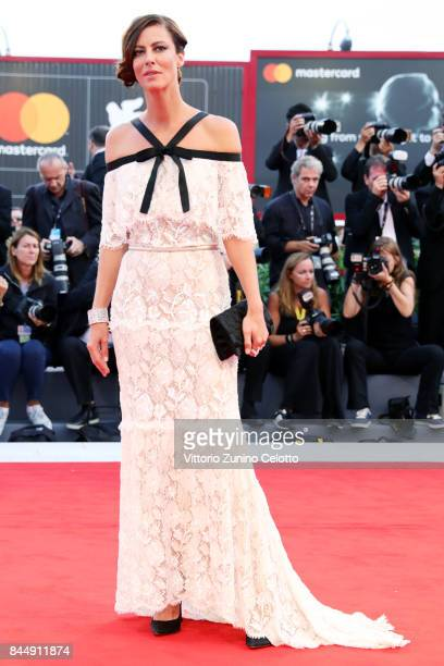 Anna Mouglalis arrives at the Award Ceremony during the 74th Venice Film Festival at Sala Grande on September 9 2017 in Venice Italy