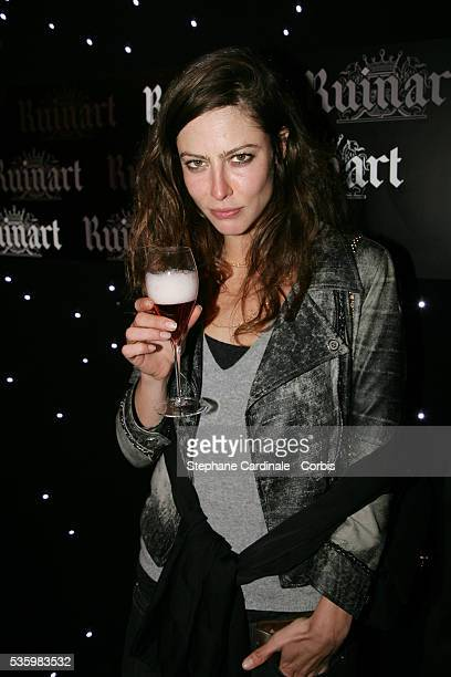 Anna Mouglalis at the Ruinart Valentine Day Party in Paris