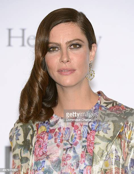 Anna Mouglalis attends amfAR's 21st Cinema Against AIDS Gala Presented By WORLDVIEW BOLD FILMS And BVLGARI at Hotel du CapEdenRoc on May 22 2014 in...
