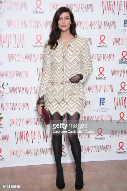Anna Mouglalis attends the 16th Sidaction as part of Paris Fashion Week on January 25 2018 in Paris France