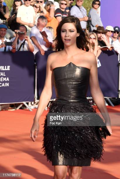 Anna Mouglalis attends the Award Ceremony during the 45th Deauville American Film Festival on September 14 2019 in Deauville France