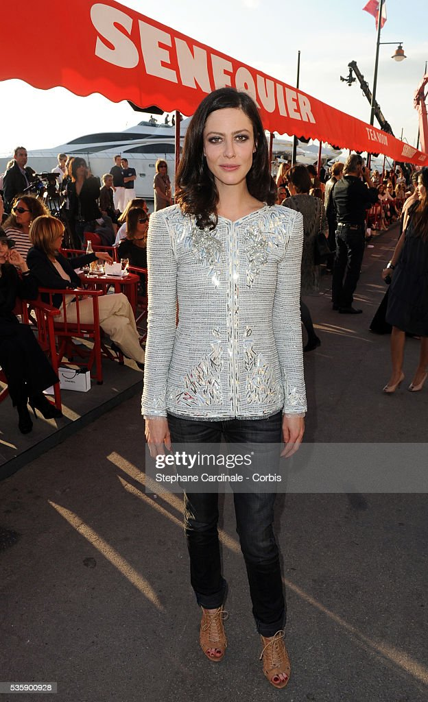 Anna Mouglalis attends the Chanel Cruise Collection Presentation in Saint Tropez