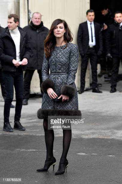 Anna Mouglalis attends the Chanel show as part of the Paris Fashion Week Womenswear Fall/Winter 2019/2020 on March 05 2019 in Paris France
