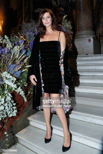 Anna Mouglalis attends the Opening Season Paris Opera Ballet Gala as part of the Paris Fashion Week Womenswear Spring/Summer 2019 Held at Opera...