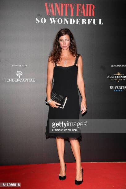 Anna Mouglalis attends Vanity Fair 'So Wonderful' Party during the 74th Venice Film Festival at Cipriani Hotel on August 31 2017 in Venice Italy