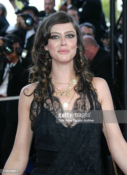 Anna Mouglalis during 2005 Cannes Film Festival Closing Ceremony and Chromophobia Screening at Palais Du Festival in Cannes France