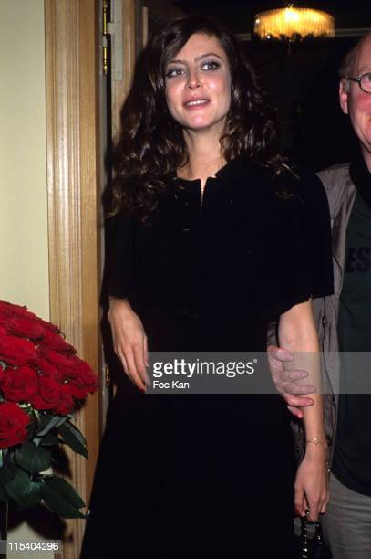 Anna Mouglalis during Citizen K and Giuseppe Zanotti Party at The Ritz Club in Paris France