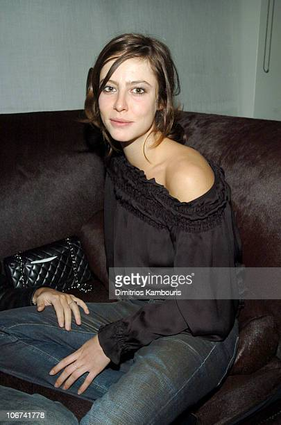 Anna Mouglalis during The Grand Classics Screening Hosted by Gael Garcia Bernal Sponsored by INC New Mens Collection at SoHo House in New York City...