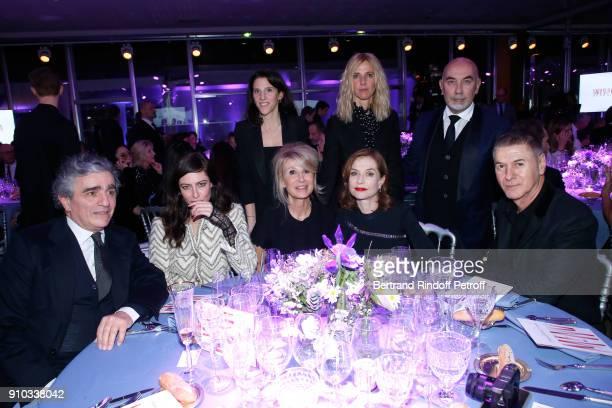 Anna Mouglalis Managing editor at Madame Figaro AnneFlorence Schmitt Isabelle Huppert Sandrine Kiberlain Editor in chief at Madame Figaro Richard...