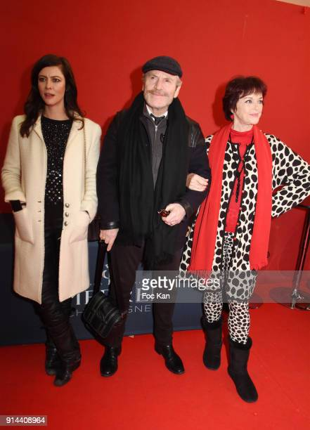 Anna Mouglalis Tcheky Karyo and Anny Duperey attend 39th 'Festival Mondial Du Cirque de Demain' Awards Ceremony At Cirque Phenix on February 4 2018...