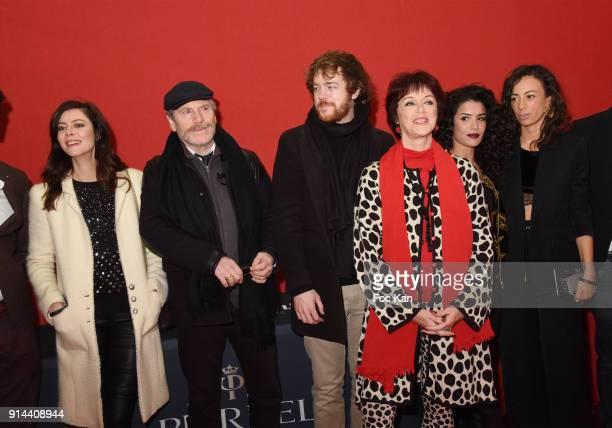 Anna Mouglalis Tcheky Karyo Gael Giraudeau his mother Anny Duperey Nathalie Dessay Janane Boudili Sabrina Ouazani attend 39th Festival Mondial Du...