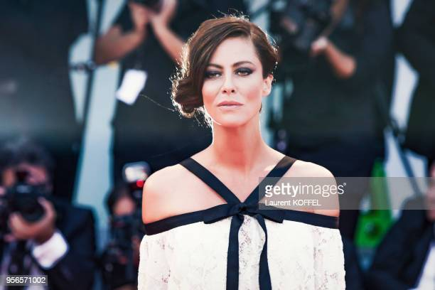 Anna Mouglalis walks the red carpet ahead the Award Ceremony of the 74th Venice Film Festival at Sala Grande on September 9 2017 in Venice Italy