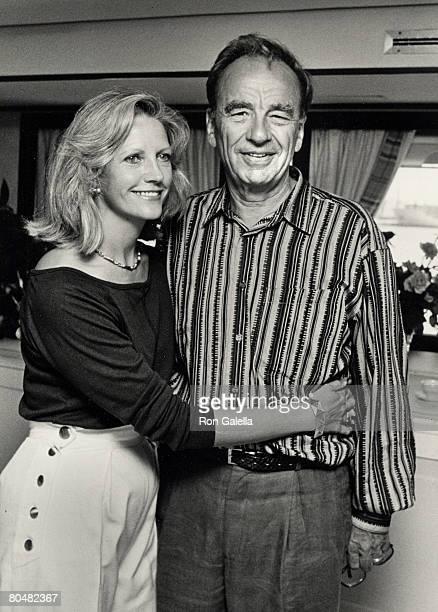 Anna Murdoch and Rupert Murdoch