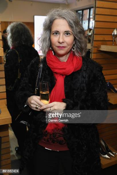 Anna Murphy attends the Rupert Sanderson Christmas 2017 lunch at Rupert Sanderson store on Bruton place on December 13 2017 in London England