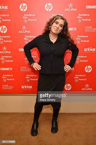 Anna Muylaert attends 'The Second Mother' Premiere 2015 Sundance Film Festival during the 2015 Sundance Film Festival on January 25 2015 in Park City...