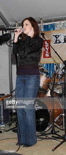 Anna Nalick during 2005 Park City 501 Happy Hour Day 4 at Levi's House in Park City Utah United States