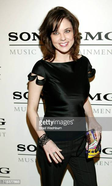 Anna Nalick during 2005 Sony/BMG Post GRAMMY Awards Party at Roosevelt Hotel in Los Angeles California United States