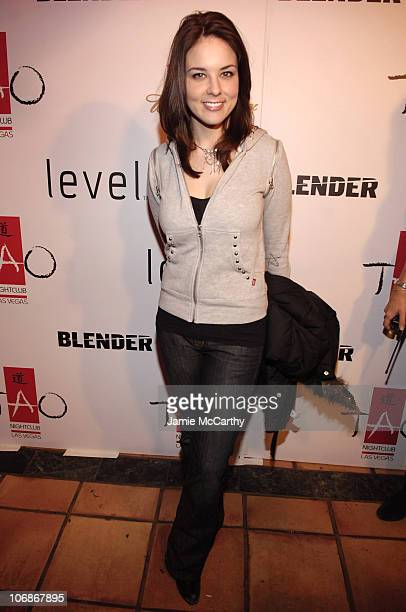 Anna Nalick during 2006 Park City Blender Sessions Presents Broken Social Scene at Harry O's in Park City Utah United States