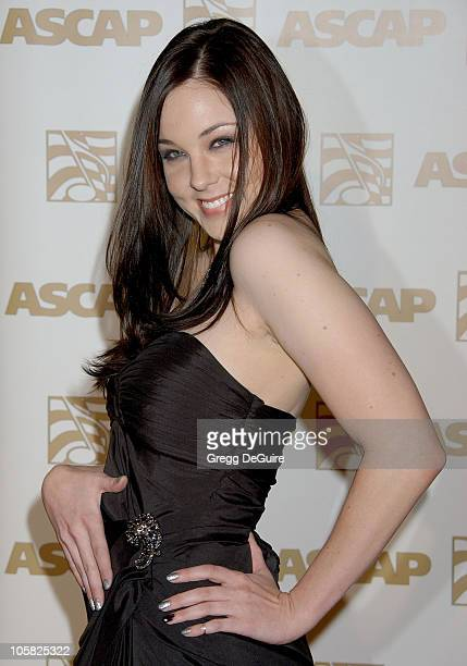 Anna Nalick during 24th Annual ASCAP Pop Music Awards Arrivals at Kodak Theatre in Hollywood California United States