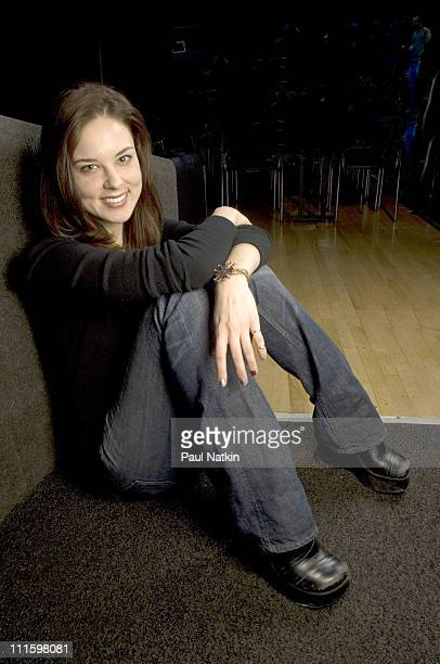 Anna Nalick during Anna Nalick Photo Session March 21 2006 at Park West in Chicago Il United States