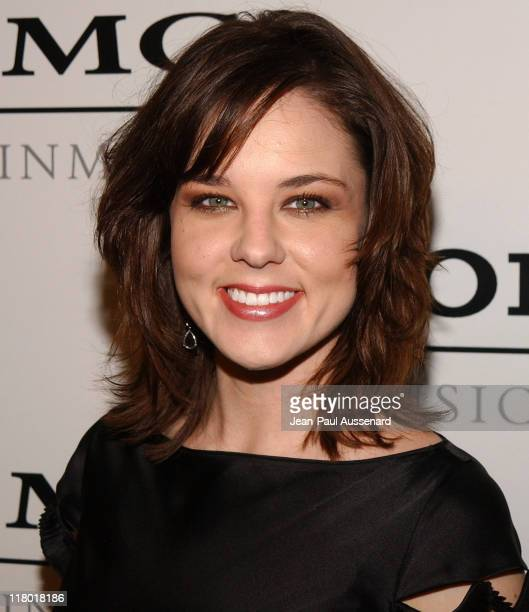 Anna Nalick during Sony/BMG Music Entertainment 2005 After GRAMMY Awards Party Arrivals at Hollywood Roosevelt Hotel in Hollywood California United...