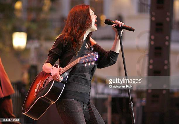 Anna Nalick during The CW Presents 'Summer at the Grove' with Anna Nalick and Kim Kline in Concert at The Grove in Los Angeles California United...