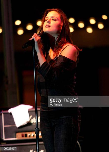 Summer at the Grove with Anna Nalick at The Grove in Los Angeles California United States