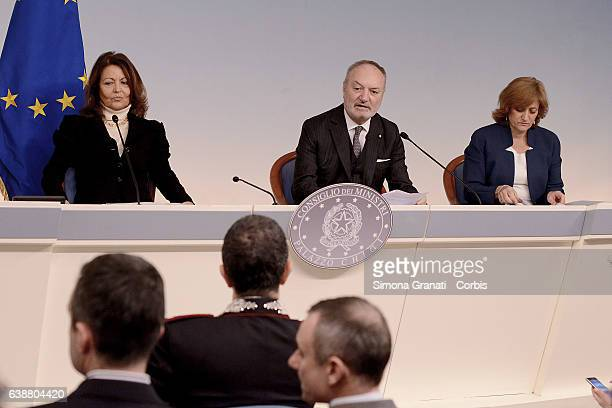 Anna Nardini Councillor of the Government the SecretaryGeneral of Presidency of the Council Paolo Aquilanti and President of the Union of Italian...