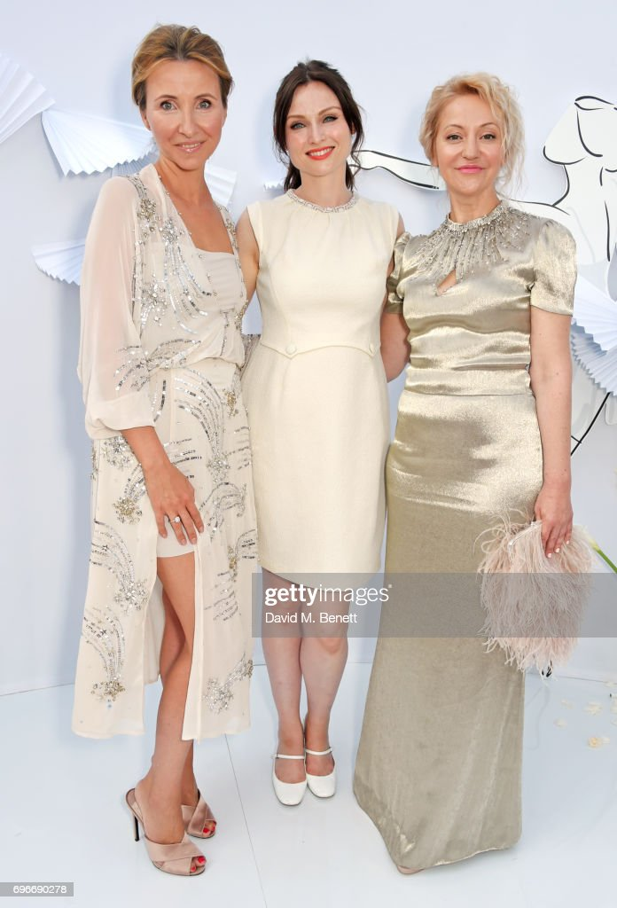 Anna Nasobina, Sophie Ellis Bextor and Yulia Polyvoda attend a charity gala evening and performance of the play 'A Life-Long Pas' in honour of Rudolf Nureyev and Dame Margot Fonteyn, held by Club Eclectique & It's founders Anna Nasbina & Yulia Polvida, at The Yacht Club De Monaco on June 16, 2017 in Monaco, Monaco.