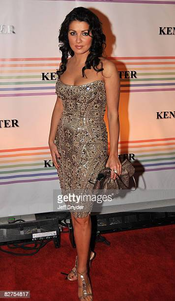 Anna Netrebko arriving at The 30th Kennedy Center Honors in Washington DC December 2 2007 The 2007 honorees are pianist Leon Fleisher actor Steve...