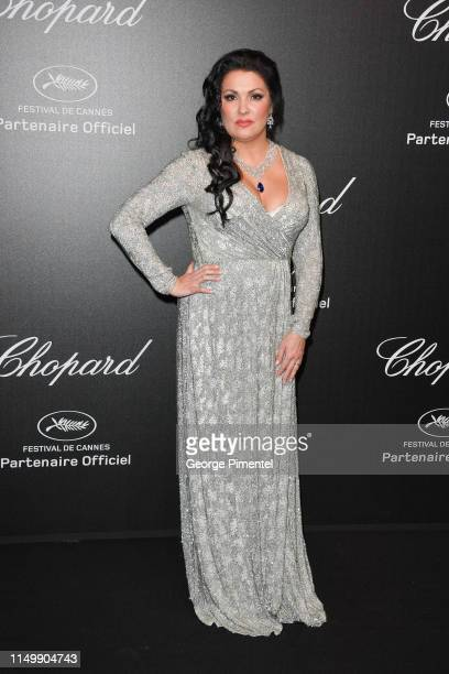 Anna Netrebko attends the Chopard Party during the 72nd annual Cannes Film Festival on May 17 2019 in Cannes France