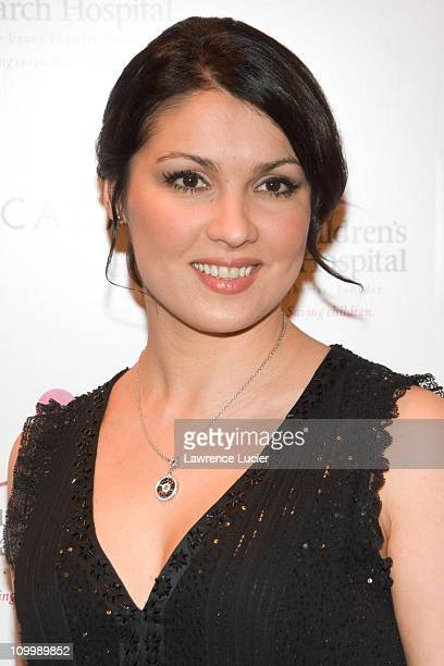 Anna Netrebko during Minnie Driver Celebrates The Escada 2006 Fall/Winter Collection Benefiting The St Jude Research Hospital at The Pink Elephant in...